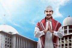 Handsome muslim man Stock Photography