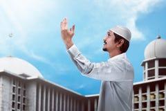 Handsome muslim man Royalty Free Stock Image