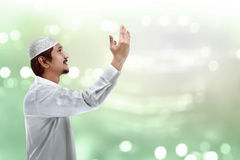 Handsome muslim man Stock Images