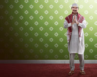 Handsome muslim man Stock Image