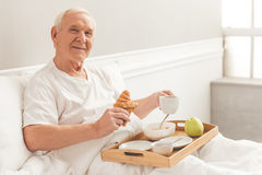 Handsome old man Royalty Free Stock Photos