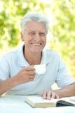 Handsome older man Stock Images
