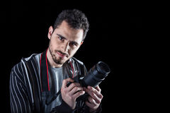 Handsome Photographer Royalty Free Stock Photo