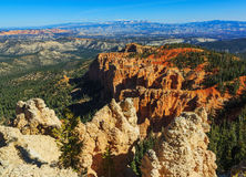 Handsome rock formation. Bryce Canyon National Park. Utah, US. Handsome rock formation. Bryce Canyon National Park. Utah, United States Royalty Free Stock Images