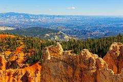 Handsome rock formation. Bryce Canyon National Park. Utah, US. Handsome rock formation. Bryce Canyon National Park. Utah, United States of America Stock Images