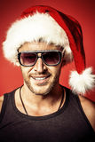 Handsome santa Royalty Free Stock Photography