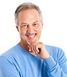Handsome senior man Stock Photography