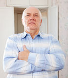 Handsome senior man Royalty Free Stock Photography