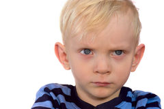 Handsome serious boy Royalty Free Stock Photo