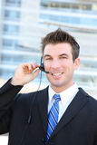 Handsome Service Man Stock Photo