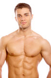 Handsome sexy naked young man Stock Image