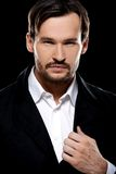 Handsome suave young man Stock Images