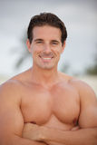 Handsome shirtless man Royalty Free Stock Photo