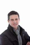 Handsome sincere man Stock Photography