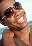 Handsome smile Stock Images