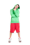 Handsome smiley hip-hop boy Royalty Free Stock Photography