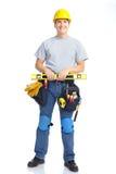 Handsome smiling builder Stock Image