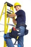 Handsome smiling builder Royalty Free Stock Images
