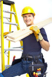 Handsome smiling builder Royalty Free Stock Images