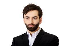 Handsome smiling businessman. Stock Photo
