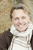 Handsome smiling mature blond man Royalty Free Stock Photo