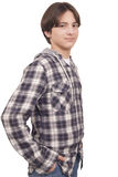 Handsome smiling teenager Stock Photo