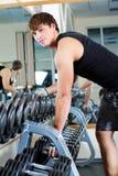 Handsome sportsmen Stock Photos
