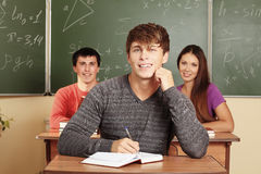 Handsome student Royalty Free Stock Image