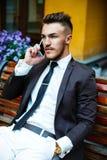 Handsome stylish man Royalty Free Stock Photo
