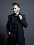 Handsome stylish man Royalty Free Stock Images
