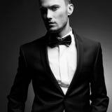 Handsome stylish man Stock Photos