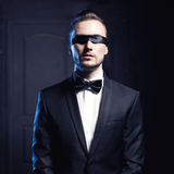 Handsome stylish man Stock Photography