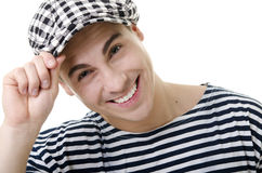 Handsome stylish young man portrait Stock Photography