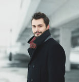 Handsome stylish young man Royalty Free Stock Photography