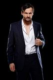 Handsome suave young man Royalty Free Stock Images