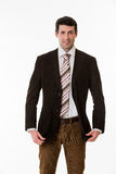 Handsome successful businessman. Stock Images
