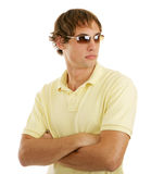 Handsome in Sunglasses Stock Image
