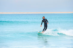 Handsome surfer Royalty Free Stock Image