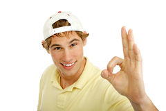 Handsome Teen Aokay Stock Photography