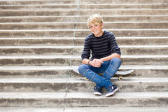 Free Handsome Teen Boy Royalty Free Stock Photography - 24783287