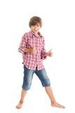 Handsome teen boy Stock Images