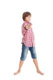 Handsome teen boy Stock Image