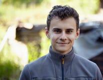 Handsome teenage farmer Stock Photography