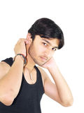 Handsome Teenager Stock Photography