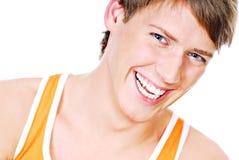 Handsome teenager Stock Image