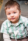 Handsome toddler boy Royalty Free Stock Images