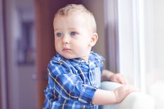 Handsome toddler boy Royalty Free Stock Photography