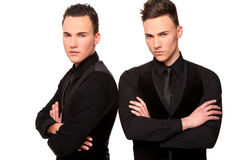 Handsome twins Royalty Free Stock Photography