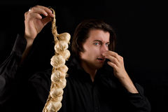 Free Handsome Vampire Doesn T Like The Smell Of Garlic Royalty Free Stock Image - 10802486
