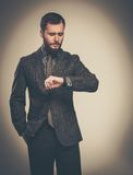 Handsome well-dressed man Royalty Free Stock Photos